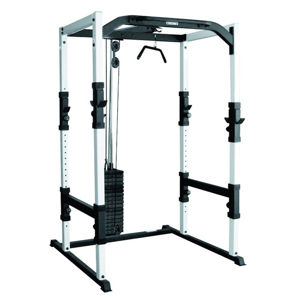 York Barbell FTS 48053 Power Rack Weight Lifting Cage