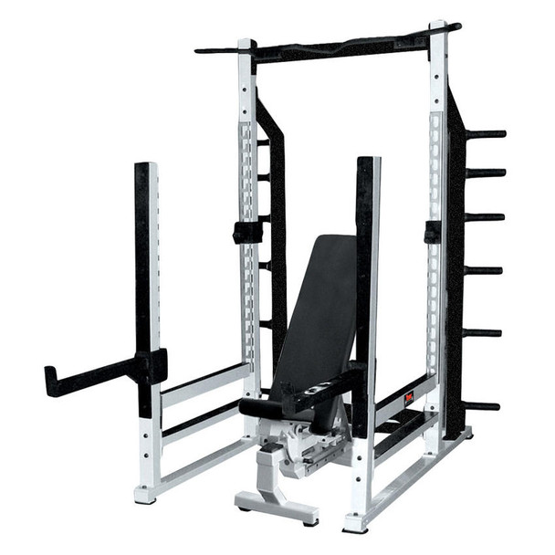 York Barbell STS Commercial Power Cage Rack - 54000/55000