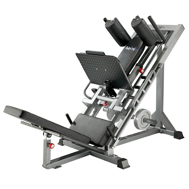 BodyCraft Linear Bearing Leg Exercise Press/Hip Sled Combo - F660