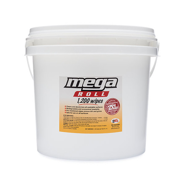 2XL-419 Mega Roll Gym Wipes Bucket