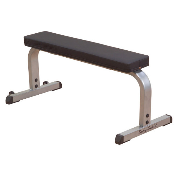 Body Solid Light Commercial Flat Workout Bench - GFB350