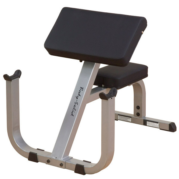 Body Solid (#GPCB329) Preacher Curl Bench