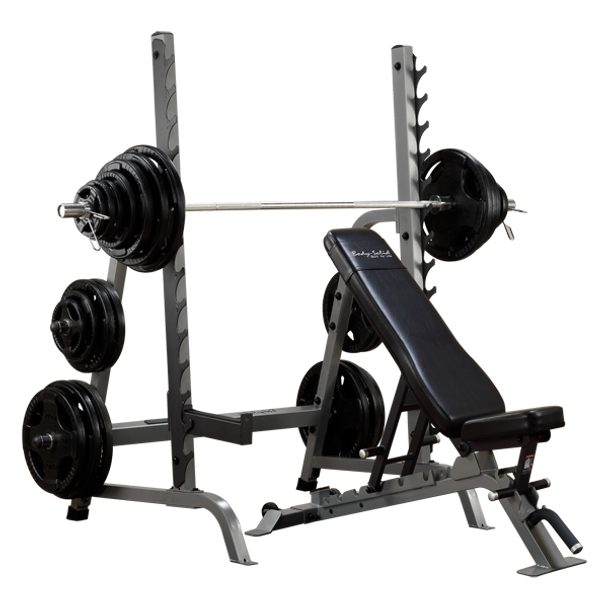 Body Solid (#SDIB370) Bench/Rack Combo