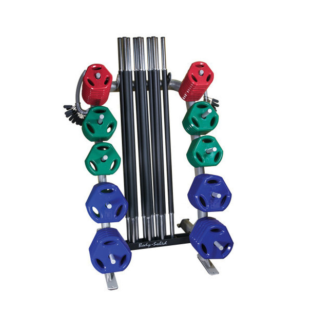 Body Solid (#GCRPACK) Cardio Barbell Set