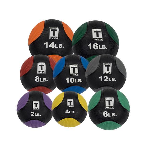 Body-Solid (#BSTMB) Rubber Medicine Balls