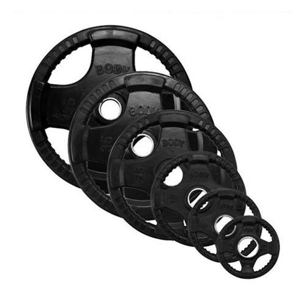 Body Solid Rubber Coated Olympic Grip Plates