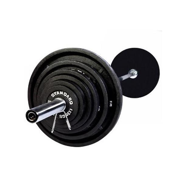 Troy USA Sports Black Olympic Weight Set