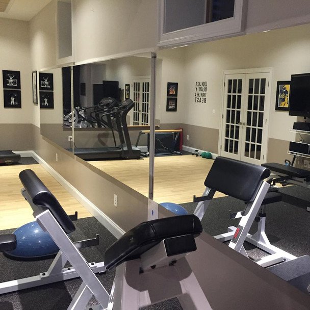 Glassless Gym Wall Mirrors