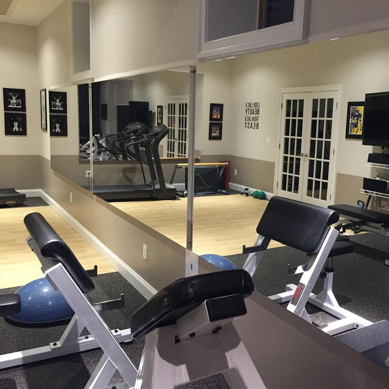 Glassless Gym Wall Mounted Mirrors Gtech Fitness