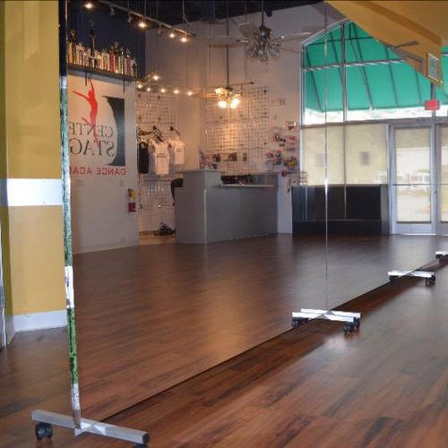Glassless Rolling Dance Studio Mirrors Gtech Fitness