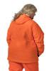 Addie Plus Size Blaze Orange Hunting Jacket - Back