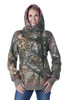 Side Button Hoodie - Realtree Xtra/Pink
