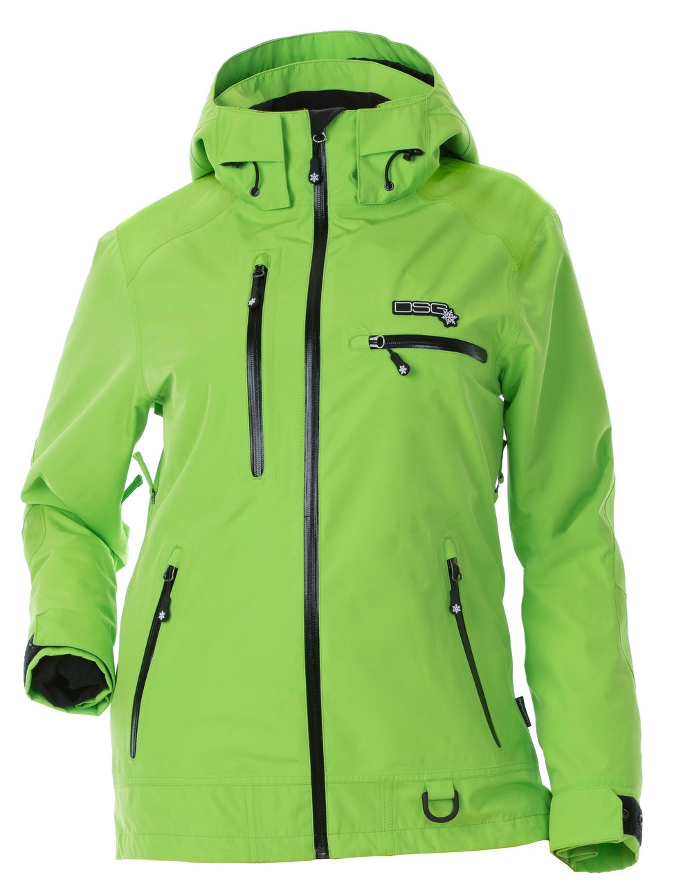Womens Snowmobile Suits >> Prizm Technical Jacket Green Apple Uninsulated
