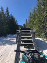 Safe Snowmobile Loading and Unloading