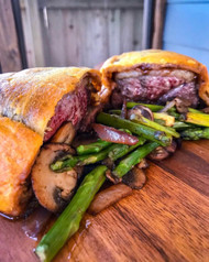 Duck Wellington with Fig Jam