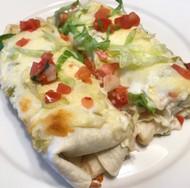 Venison White Sauce Enchiladas