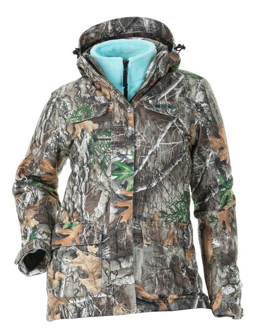 Kylie 3.0  3-in-1 Hunting Jacket - with Removable Fleece Liner - Realtree Edge®