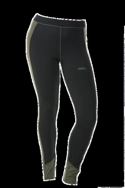 D-Tech Base Layer Pant - Black/Olive