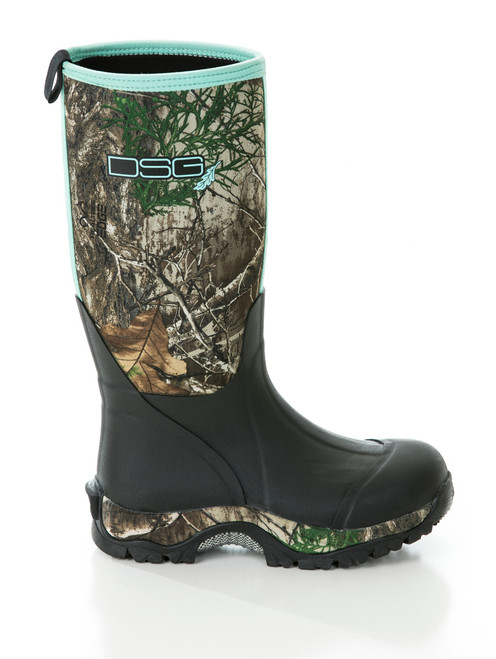 Women's Rubber Boot Insulated - Realtree Edge ® - 400 Grams
