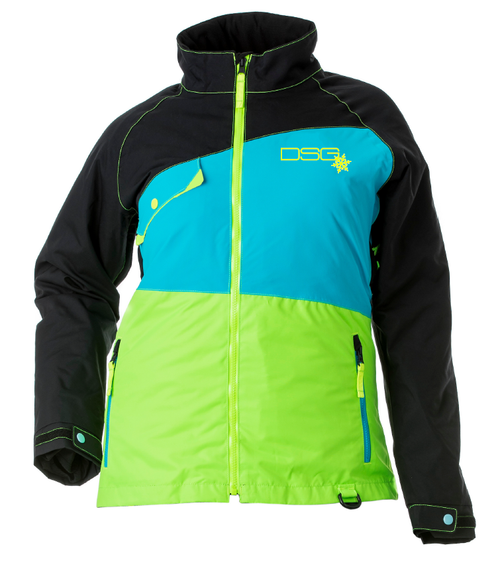 Verge Jacket - Black/Blue/Lime - Canada Only