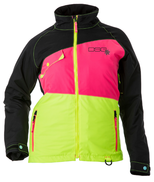 Verge Jacket - Black/Pink/Yellow - Canada Only