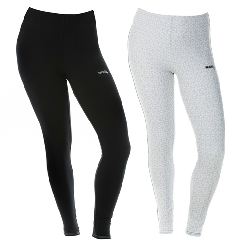D-Tech Base Layer Pant - Black or White Snowflake - Canada Only