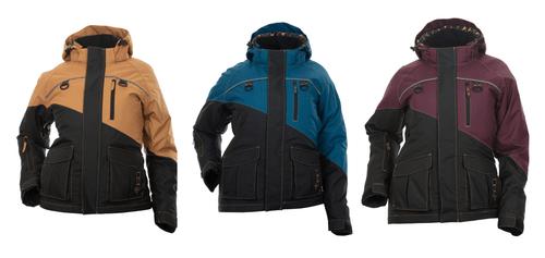 Avid Ice Fishing Jacket - Tan, Deep Teal or Deep Maroon