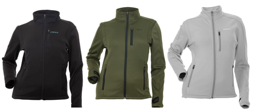 Performance Fleece Zip Up - Black, Olive or Grey - Canada Only