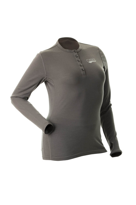 Merino Wool Base Layer Shirt - Grey