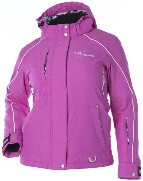 Lily Collection Jacket - Pink Heather