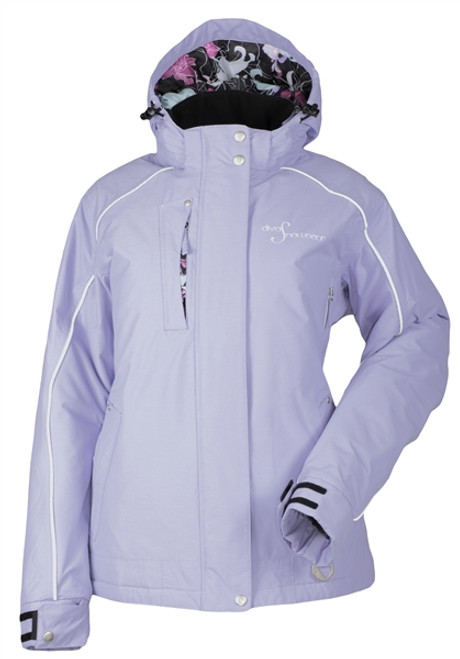 DSG Women's Lily Collection Winter Jacket - Lilac Heather | DSG Outerwear