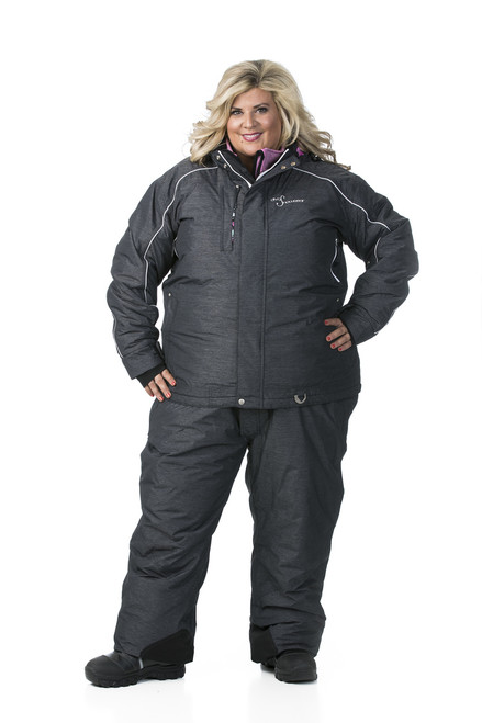 Womens Snowmobile Suits >> Lily Collection Jacket Black Heather