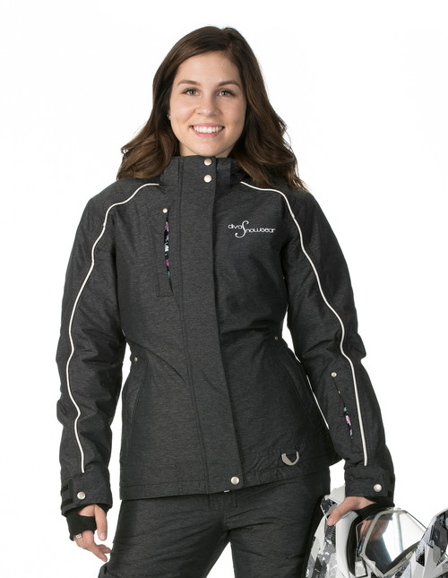 Lily Collection Jacket - Black Heather