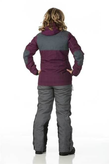Womens Snowmobile Suits >> Arctic Appeal Jacket 2 0 Deep Berry Charcoal Flotex Insulation