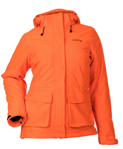 Kylie Convertible 3-in-1 Hunting Jacket - Blaze Orange