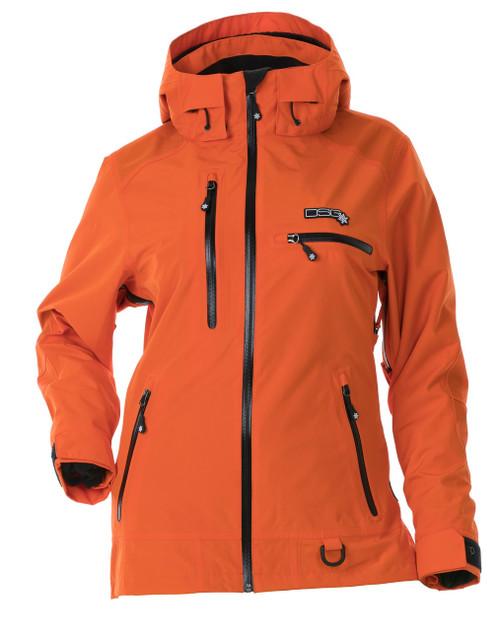 Prizm Technical Jacket - Tangerine  (Uninsulated)