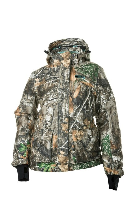 Kylie 2.0   3-in-1 Hunting Jacket - Removable Fleece Liner - Can Be Worn 3 Ways - Realtree Edge