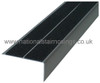 Double Channel Square Anti Slip Stair Nosing Ramp Profile For Outdoor/ Indoors - 2.5m