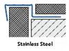 Non Slip Grooved Tread Tile-In Stair Edge Nosing For Tiles- 2.5m