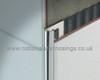 Stainless Steel Quadrant Corner Edge Tile Trim - 2.5m.