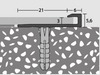 *2.5mm-3mm height detail