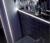 LED Aluminium Square Edge Tile Trim -2.5m