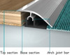 Ramp Transition Profile For 8-23mm Floor Height