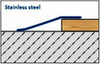 Ramp Transition Profile  For Floors With 5-22mm Height Difference