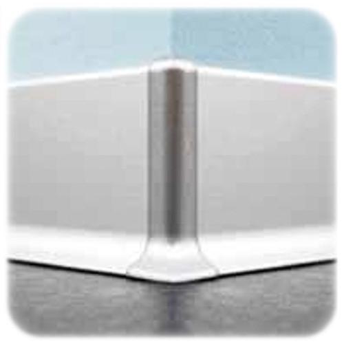External Corner X For Aluminium Skirting