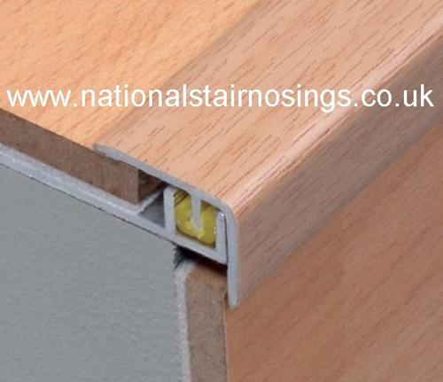 Adjustable Stair Edge Nosing For  7-9mm Height Laminate Floor