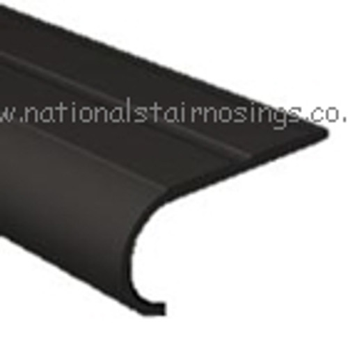 Flexible PVC Bullnose Rounded Stair Nosing - 2.75m