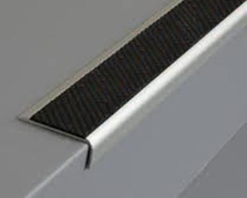 Outdoor/Indoor Rake Back Anti Slip Stair Nosing,Ramp Profile-2.5m