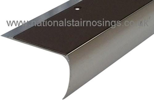 Anti Slip Semi Rounded Stair Nosings Step Edge Ramp Profile
