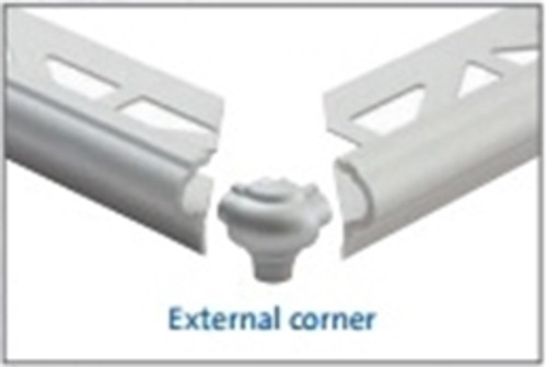 External Corner X for Stair Nose Edging For Tiles